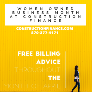 Women and Minority Owned Business Month