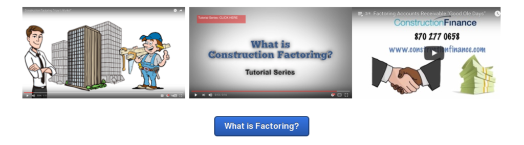 How to Invoice Factor with Construction Finance