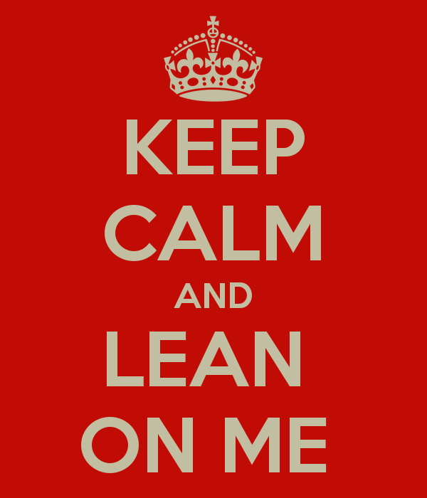 Lean on Me or Lien on Me