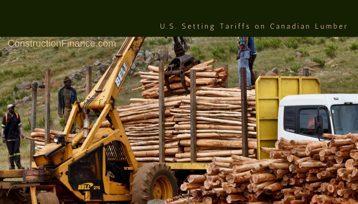 Tariffs on Canadian Lumber